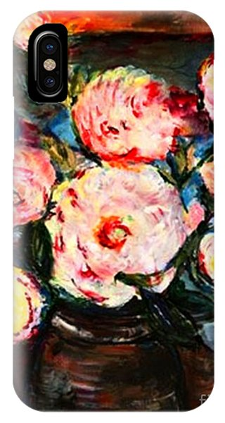 The Dancer's Peonies IPhone Case