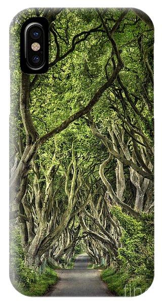 Ireland iPhone Case - The Dark Hedges by Evelina Kremsdorf