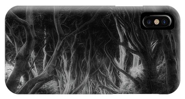 Ireland iPhone Case - The Dark Hedges by Saskia Dingemans