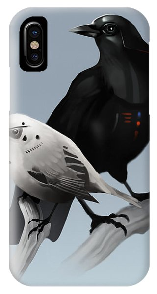 The Dark Side Of The Flock IPhone Case