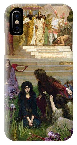 The Daughters Of Judah In Babylon IPhone Case