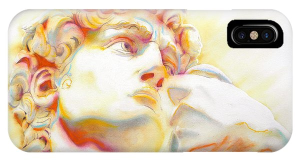 The David By Michelangelo. Tribute IPhone Case