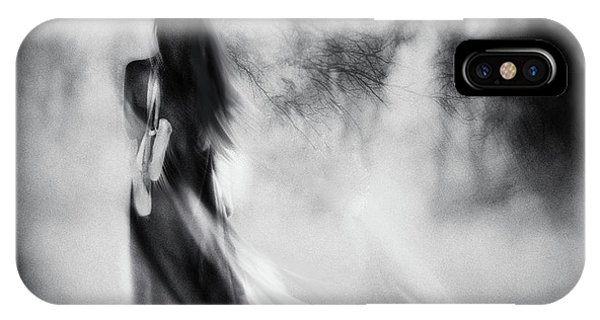 Mist iPhone Case - The Day I Stopped Dancing by Charlaine Gerber