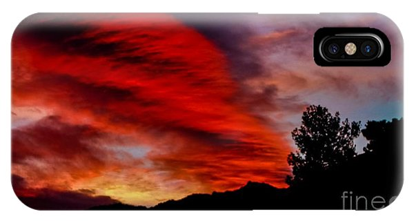 The Day Is Done IPhone Case