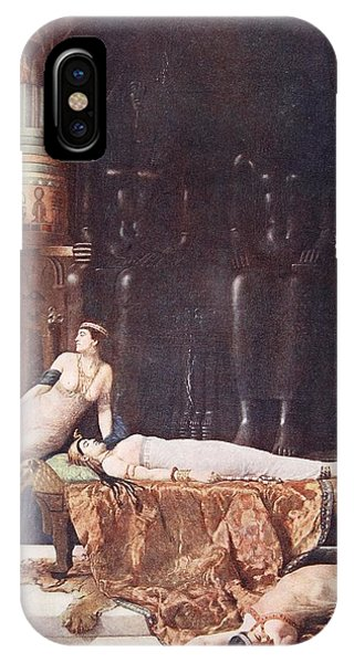 Baroque iPhone Case - The Death Of Cleopatra, Illustration by John Collier