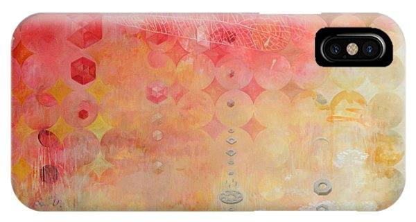 Contemporary iPhone Case - The Decay Of Starlight by Sandra Cohen