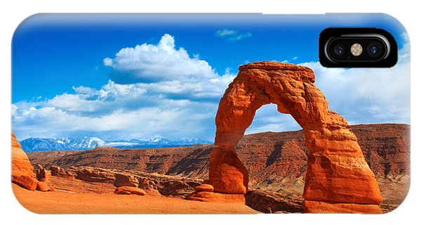 The Delicate Arch IPhone Case
