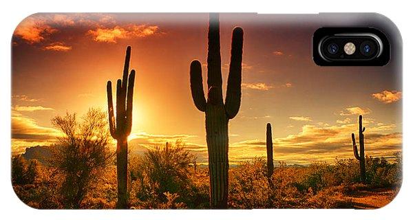 The Desert Awakens  IPhone Case