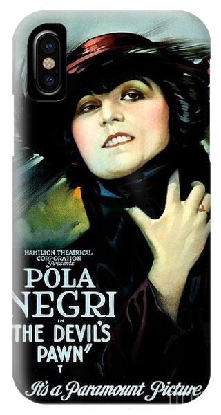 The Devil's Pawn Pola Negri IPhone Case