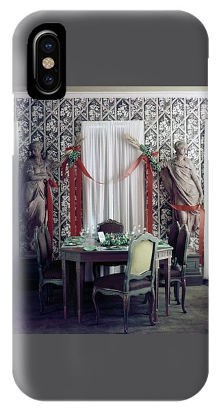 The Dining Room In James A. Beard's Home IPhone Case