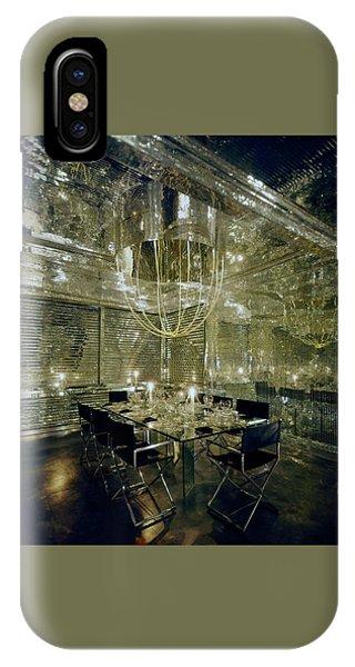 The Dining Room Of Ara Gallant's Apartment IPhone Case