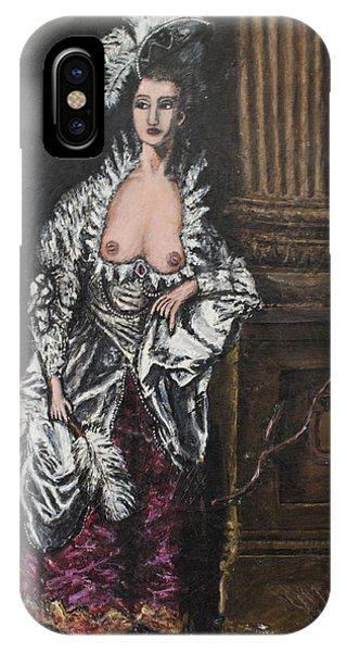 The Dishonorable Mrs. Graham Phone Case by Christopher Winkler