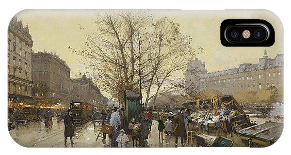 The Docks Of Paris Les Quais A Paris IPhone Case