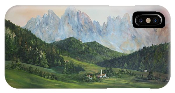 The Dolomites Italy IPhone Case