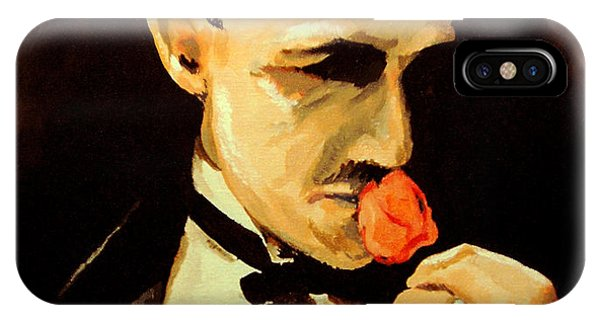 The Don And The Rose IPhone Case