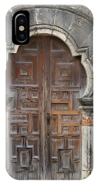 The Door Of Espada Mission  IPhone Case