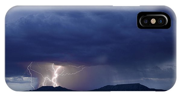 The Double Mountains IPhone Case