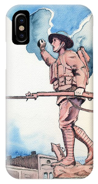 The Doughboy Stands IPhone Case