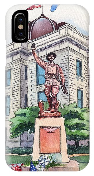 The Doughboy Statue IPhone Case