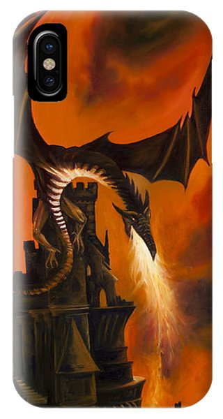 The Dragon's Tower IPhone Case