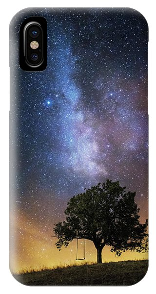 Dreamy iPhone Case - The Dreamer's Seat by Luk???? Ild??a