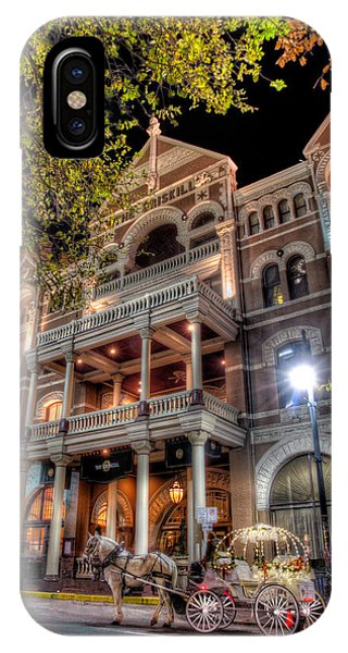 The Driskill Hotel IPhone Case