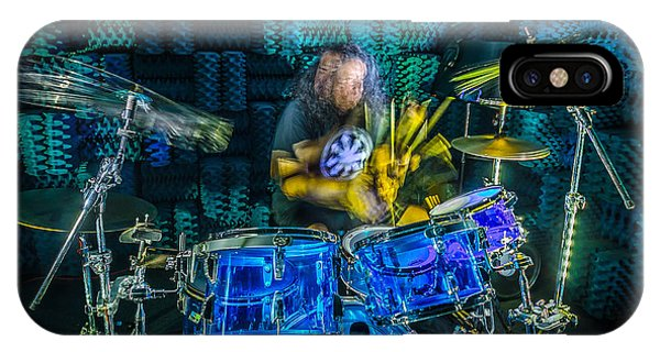 The Drummer IPhone Case