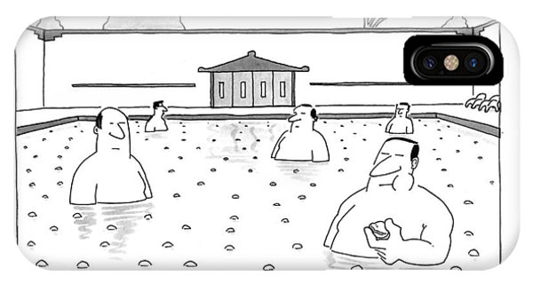The Dumpling Baths Of Szechwan Province IPhone Case