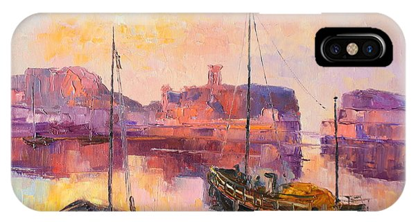 The Dunbar Harbour IPhone Case