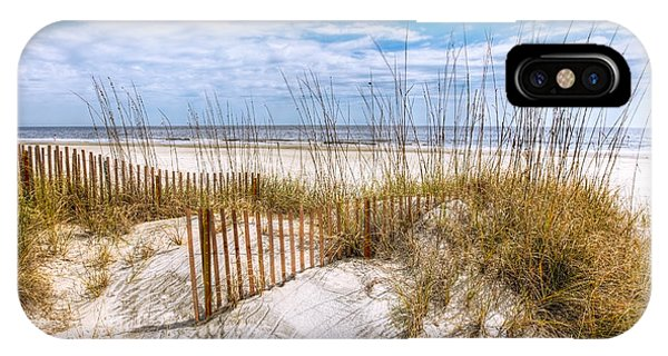 Tidal iPhone Case - The Dunes by Debra and Dave Vanderlaan