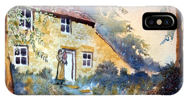 The Dwelling At Hawnby IPhone Case