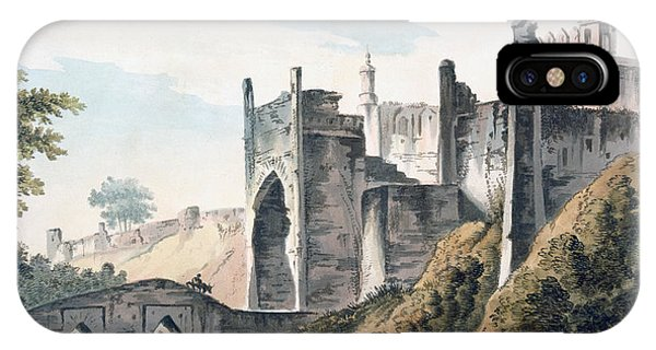 British Empire iPhone Case - The East End Of The Fort Of Mongheer by William Hodges