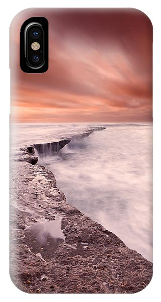 The Edge Of Earth IPhone Case