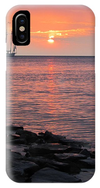 The Edith Becker Sunset Cruise IPhone Case