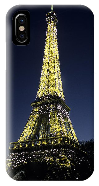 The Eiffel Tower IPhone Case