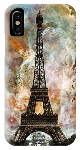 Capitol iPhone Case - The Eiffel Tower - Paris France Art By Sharon Cummings by Sharon Cummings