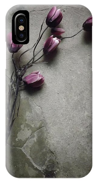 Bouquet iPhone Case - The Elegant Tulip by Kahar Lagaa