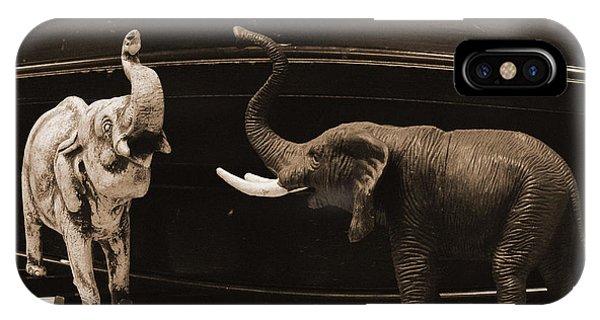 The Elephant Walk IPhone Case