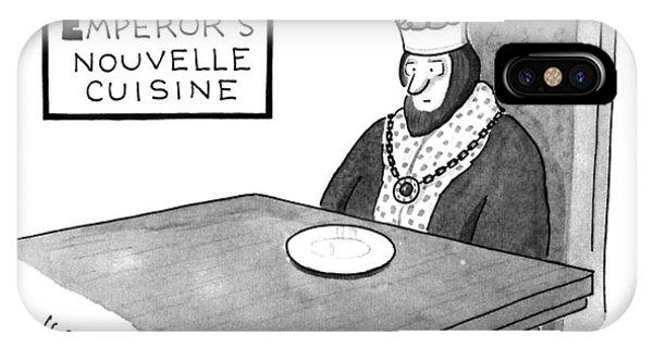 The Emperor's Nouvelle Cuisine IPhone Case