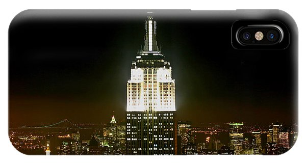 Empire State Building iPhone Case - The Empire State Building by Linda Unger