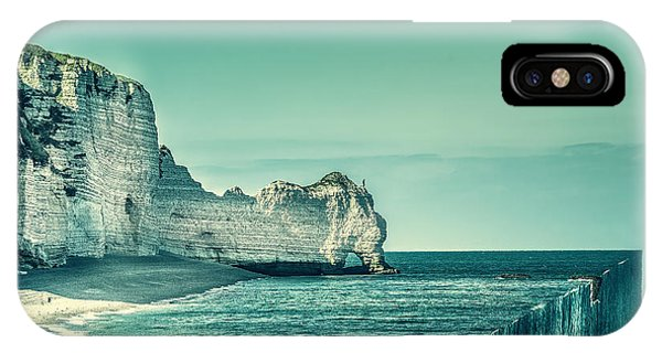 Teal iPhone Case - The End by Marcus Hennen