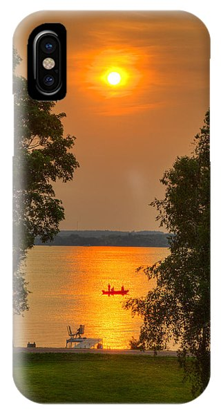 The End Of A Perfect Day IPhone Case