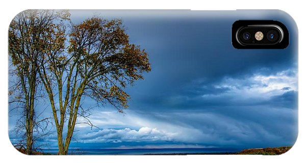 The End Of A Rainy Day IPhone Case
