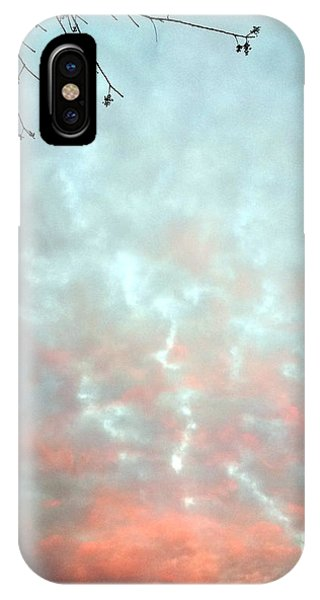 The End Of Sunset IPhone Case