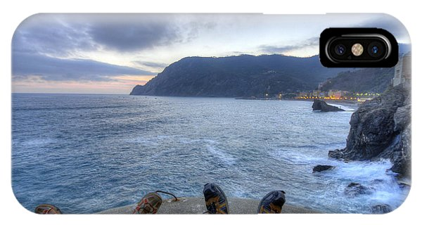 The End Of The Day In Monterosso IPhone Case