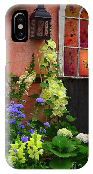 The English Cottage Window IPhone Case