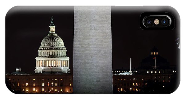 The Essence Of Washington At Night IPhone Case