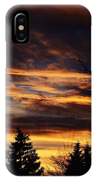 The Evening Sky IPhone Case