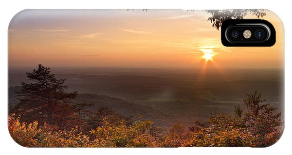 Chilhowee iPhone Case - The Evening Star by Debra and Dave Vanderlaan