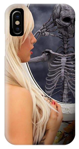 The Evil Mirror IPhone Case